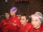 Echipa de stafeta 4X50 liber feminin (medalie de bronz)