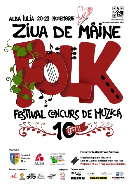 Afis imagine - Festival de Folk, 2014